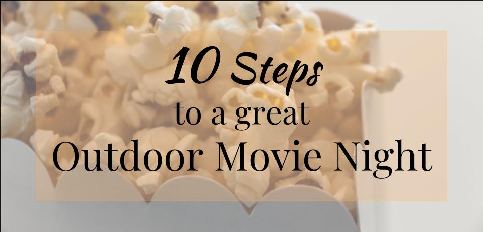 Outdoor movie night | PopUp Funds